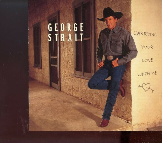 George Strait / Carrying Your Love With Me - MINT