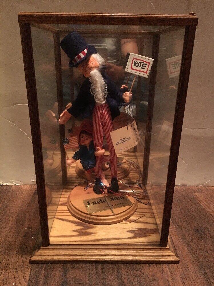 El tío Sam muñeca Annalee sociedad Folk Hero Series (rara, ya no está en producción)