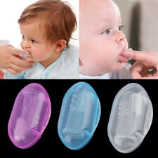With Box 6pcs//set Finger Toothbrush Teeth Clean Care Health Silicone Baby