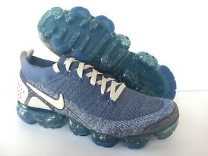 size 40 c609a a78e1 Image is loading NIKE-iD-AIR-VAPORMAX-FLYKNIT-2-GRIDIRON-BLUE-