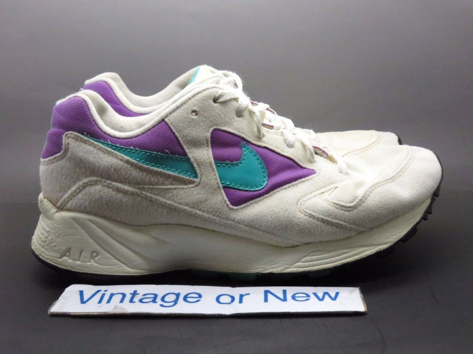 new arrival c7f16 dd84b Women s VTG Nike Air Icarus White Purple Teal Running Shoes Shoes Shoes  1992 sz 8.5 76cd5f