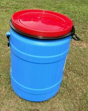 30 gallon + 18 gallon combo. Plastic FOOD GRADE Barrels drums **FREE SHIPPING**