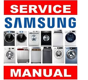 samsung washer and dryer service repair manual troubleshooting ebay rh ebay com Lavadora Samsung Jet Como Desarmar Una Lavadora Samsung