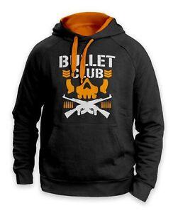 Bullet Club Muscle Wristling Pullover Cotton Hoodie Hooded Pocket Sweatshirt