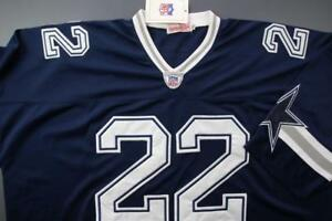 official photos 64ac8 f8651 Image is loading DALLAS-COWBOYS-22-Emmitt-Smith-Football-Jersey-NFL-
