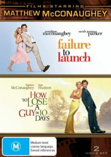 1 of 1 - Matthew McConaughey - How To Lose A Guy In 10 Days / Failure To Launch (DVD, 200