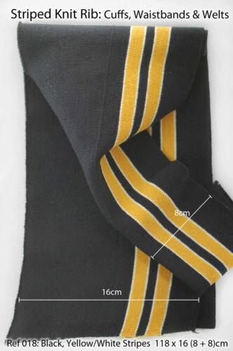 Manche pour Vestes et Vêtement Tricot élastique pour Ceinture Neotrims