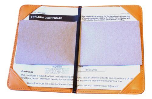 Masonic Apron Design Shotgun Certificate Holder Firearms Licence Wallet 232