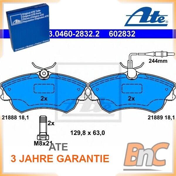 ATE Bremsbelagsatz Vorderachse 13.0460-3800.2 für RENAULT MASTER II Pritsche VA