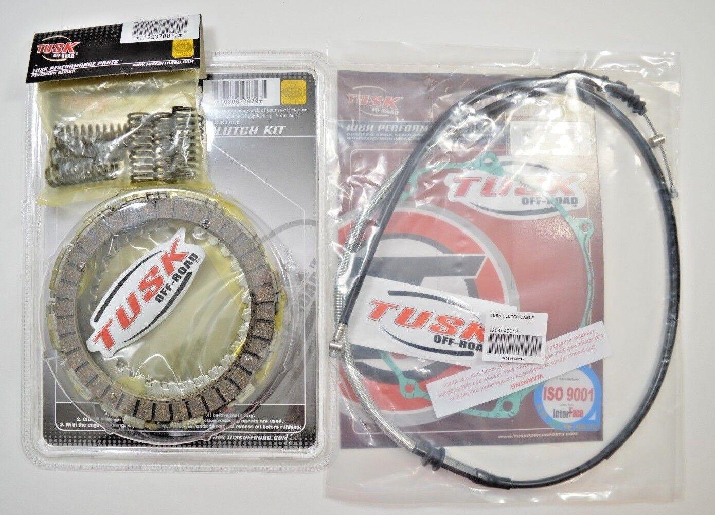 Yamaha YFZ 450 2007–2009 /& 2012–2013 Tusk Competition Clutch Kit w// Springs