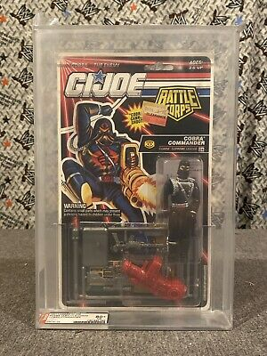 Unpunched Card Lot V2 Beautiful A Gi Joe Cobra 1988 Tiger Force Snake Eyes C9.5