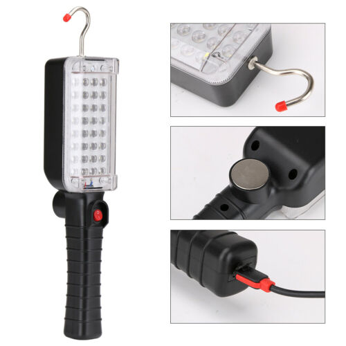 20W COB 34 LED Work Light Mechanic Inspection Lamp USB Rechargeable Hand Torch