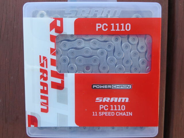 SRAM PC1110 11 SPEED MOUNTAIN CX BIKE CHAIN *NEW* NX1 GX1 X1 XX1 RIVAL FORCE
