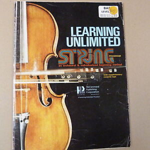 Bien éDuqué Double Bass Learning Unlimited String Méthode, Bass Leve 1-afficher Le Titre D'origine Soulager Le Rhumatisme