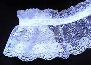 Ruffled-Lace-with-Ribbon-white-white-4-inch-price-for-1-yard