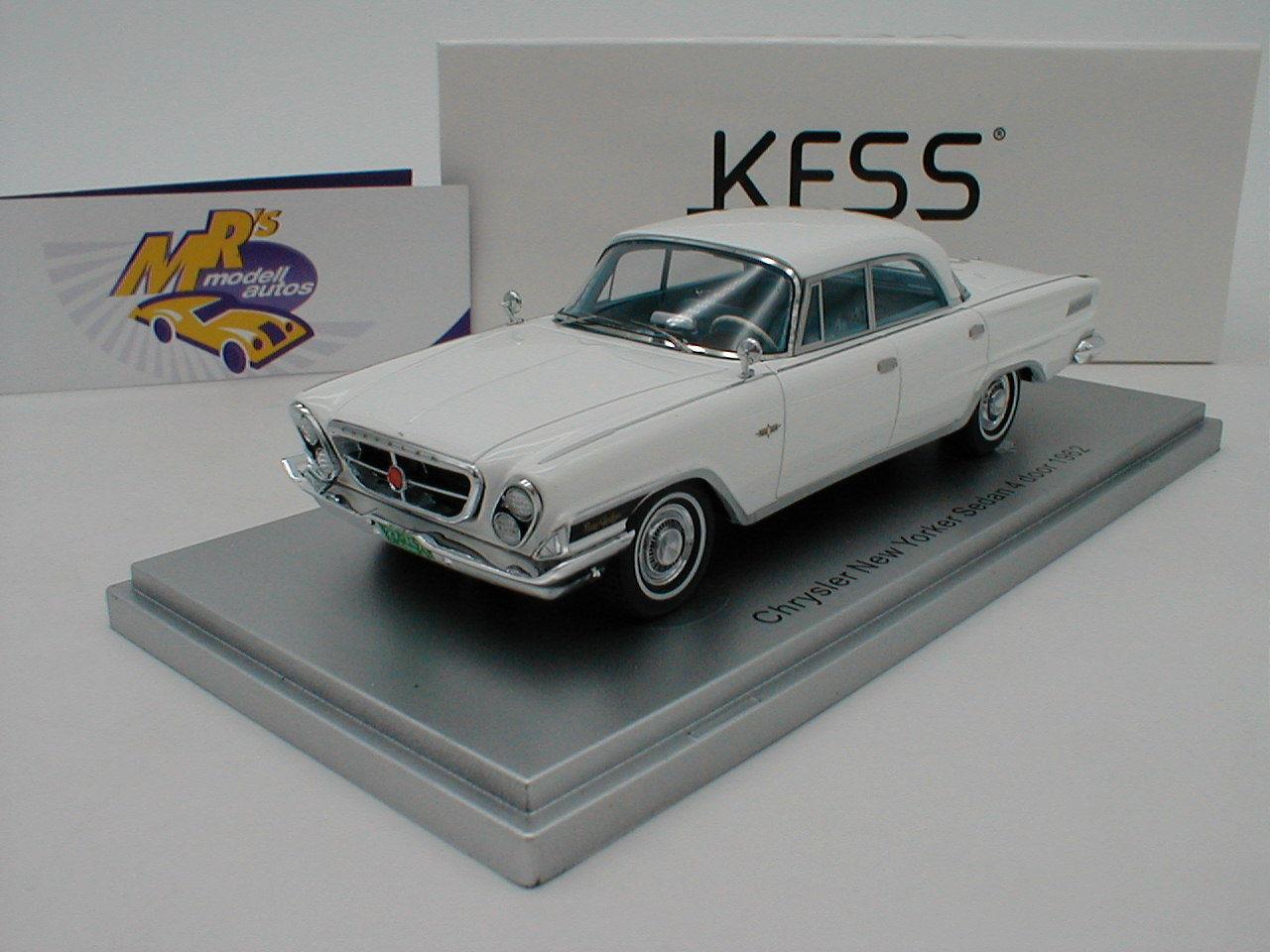 Kess 43032021 - chevrolet new yorker limousine 4 tür, bj.1962  wei ß  1 43 neu