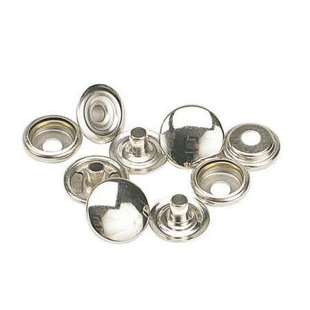 "100 QTY Baby :1//2/"" C.S.Osborne K3708-11-C Nickel Plated Steel Snap Set,Size 20"