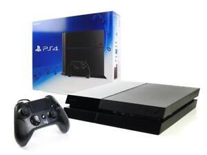 SONY-PS4-Konsole-500GB-NEUEN-Gator-Claw-Wired-Controller-Spielkonsole-Jet-Black
