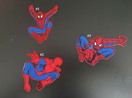 SEW ON /& Fer Sur Broderie Patches Spider-Man