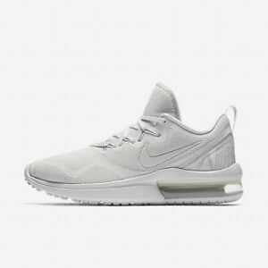 199391c1c1bd10 Nike Air Max Fury Women s Shoes Running White Vast Gray pure ...
