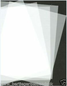 Polyester-Mylar-Stencil-Film-Re-usable-Plastic-A5-A4-Sheet-125mic-Various-Qtys