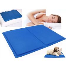 MAGIC COOL COOLING GEL PAD PILLOW COOLING MAT LAPTOP CUSHION YOGA PET BED SOFA