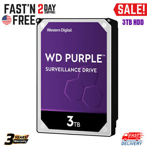 3TB Hard Disk Drive Surveillance HDD 3.5'' 5400 RPM Class SATA 6Gb/s For DVR NVR