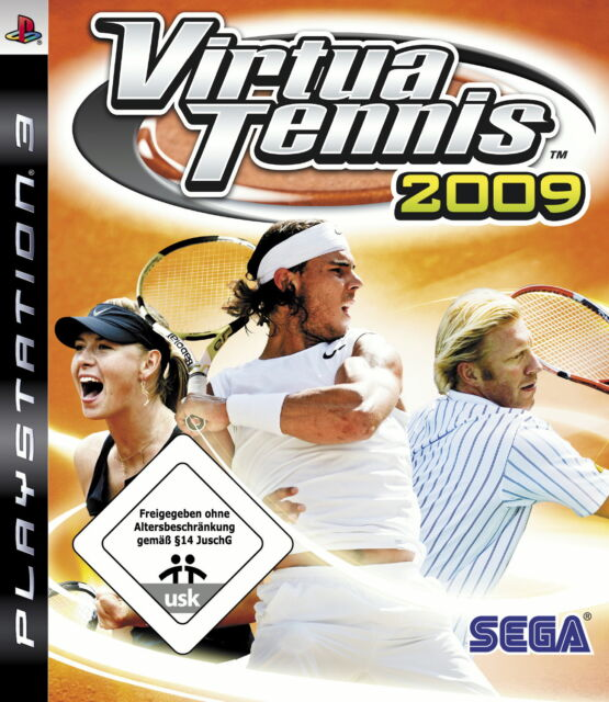 Virtua Tennis 2009 (Sony PlayStation 3, 2009)