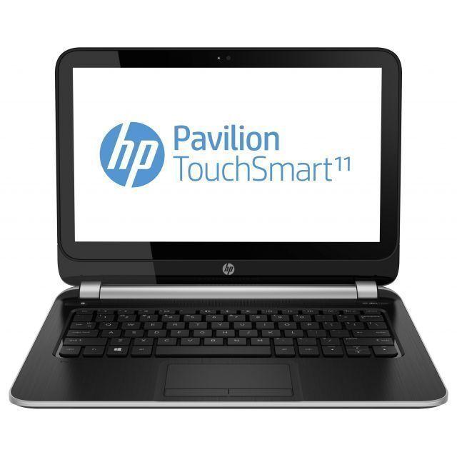 "HP TouchSmart 11-e010nr 11.6"" (500 GB, AMD A4, 1 GHz, 4 GB) Notebook - Black..."