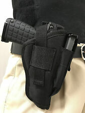 "Gun Holster With Extra Magazine Pouch for Ruger SR9C with 3.5"" Barrel"