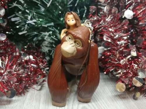 Tarzan Kala Wind-up Toy Christmas Tree Ornament
