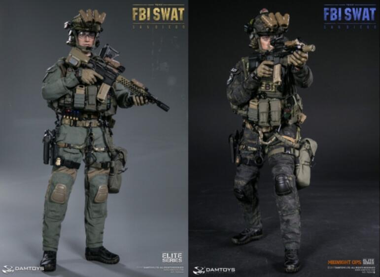 1 6 DamToys US US FBI SWAT Team Agent San Diego Midnight OPS 78044 A  B  Figure