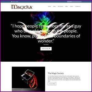 Fully-Stocked-Dropshipping-MAGIC-Website-Business-For-Sale-Domain-Hosting