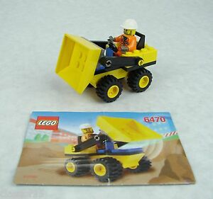 lego city loader and dump truck 4201 instructions