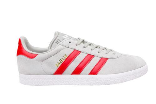 Adidas Gazelle Mens Rot Weiß Bb5257 Grau PB7Zqd