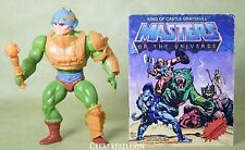 He-man Masters of the Universe MAN-AT-ARMS action figure red dots variant MOTU
