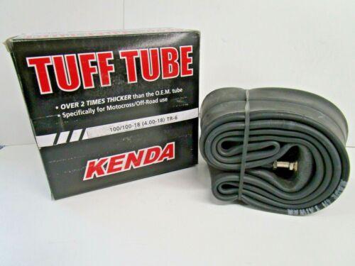 KENDA TUFF TUBE 100//100-18 Heavy Duty Motorcycle Tube  TR-6 4.00-18