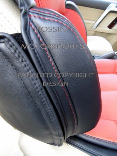 TO FIT A RENAULT MASTER VAN SEAT COVER YS 06 ROSSINI SPORT RED//BLACK 2015