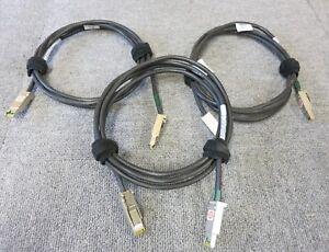 GéNéReuse 3 X Emc 038-003-509 Hssdc Vers Hssdc Câble 2 M Symmetrix Dell Raid Baie Réseau-afficher Le Titre D'origine
