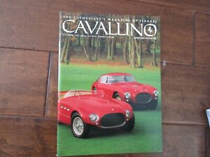 VINTAGE-CAVALLINO-FERRARI-MAGAZINE-NUMBER-62-April-1991