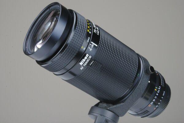 Agressif Nikon Af Nikkor Zoom Ai-s 75-300 F:4,5 Macro Made In Japan