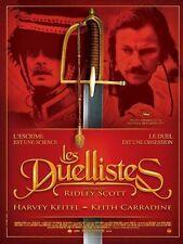 Affiche 40x60cm LES DUELLISTES Ridley Scott - Harvey Keitel, Carradine R NEUVE