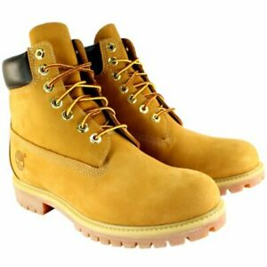 Mens-Timberland-Premium-Classic-Leather-Original-Lace-Up-Boots-7-5-12-5