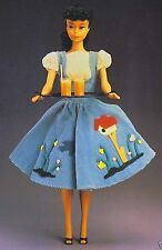 BARBIE DOLL CLOTHES PATTERN/8 Vintage OUTFITs-Career Girl/Ballet/After 5/Sheath