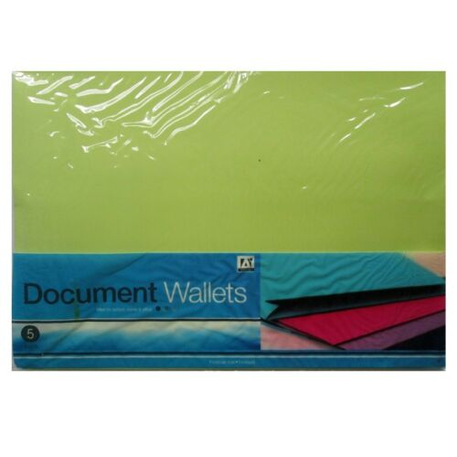 Punched POCKETS Carry FOLDERS /& WALLETS Home Office Student School Supplies