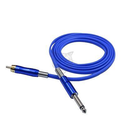 Soft Silicone RCA Tattoo Clip cord for Rotary Tattoo Machine Gun 1.8M Durable