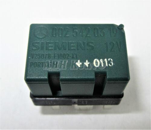 259-mercedes-benz 1998-2015 6-Pin surcharge vert relais A0025420319 0025420319