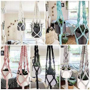 Macrame-Plant-Hanger-Various-Colours-Handmade