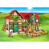 Playmobil Large Farm Play Set With Action Figures (6120)