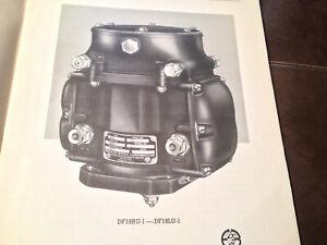 Bosch DF18RU-1 & DF18LU-1 Magneto Service & Parts Manual